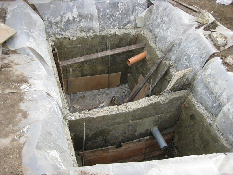 Сделать септик из бетона своими руками
