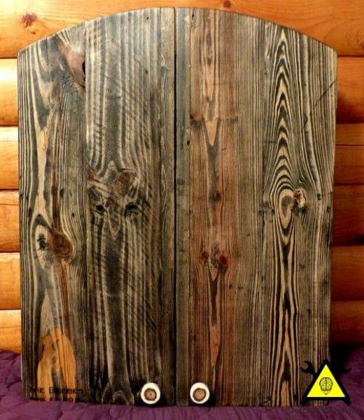 Шкафчик для дартса из поддонов