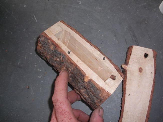 Тайник из дерева своими руками