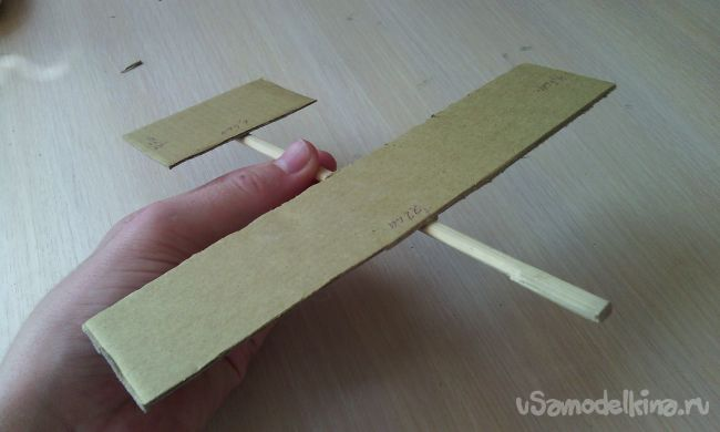 Как сделать планер своими руками из палочек для суши!