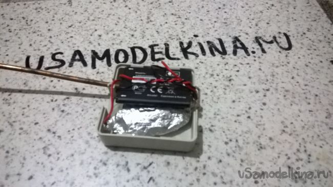 Звуковой детектор скрытой проводки