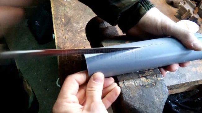 Самодельные ножны из пластика