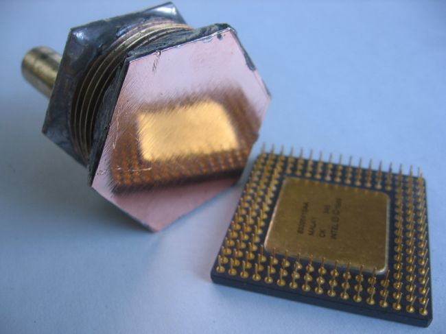 Водоблок своими руками для процессора 103