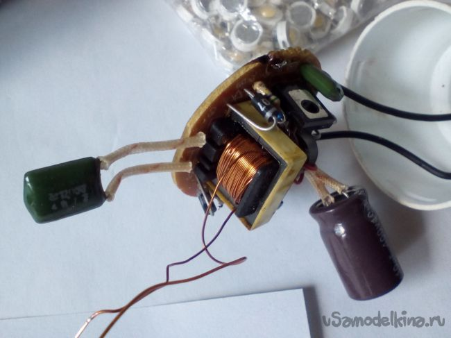 Как сделать светодиодную лампу из аэрозольного баллончика за полчаса