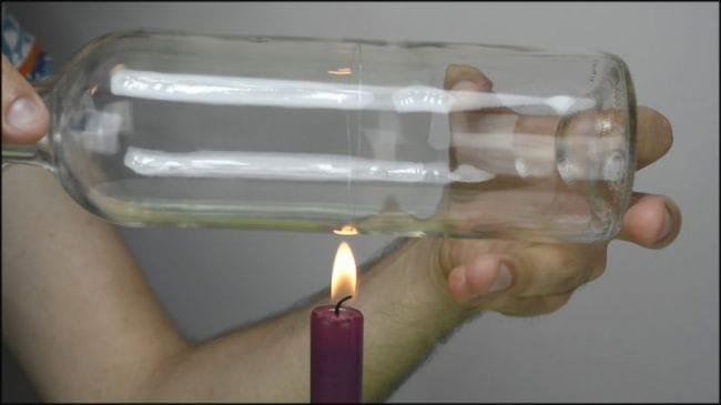Станок для резки стеклянных бутылок