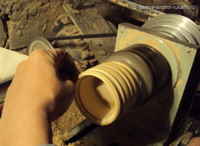 Солонка из дерева своими руками на токарном станке
