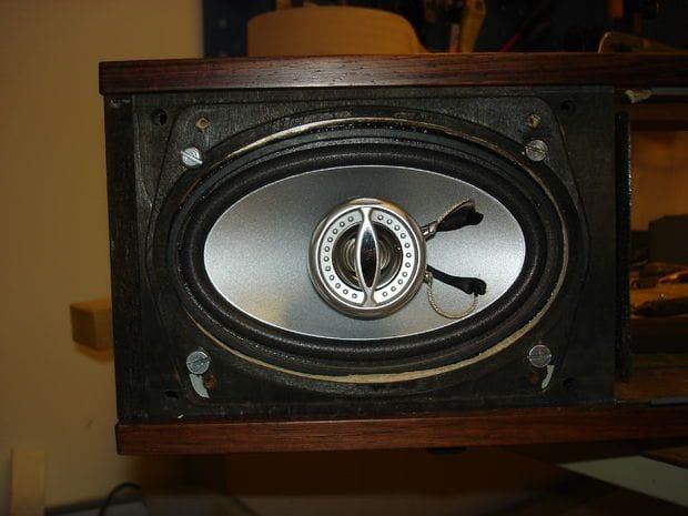 Бумбокс в радиокорпусе