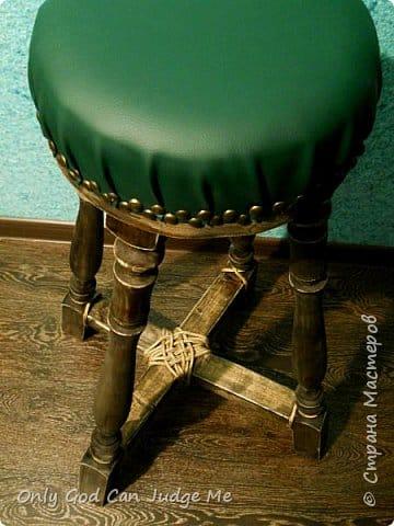 Делаем барный стул в стиле кантри