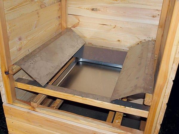 Коптильня горячего и холодного копчения для дачи