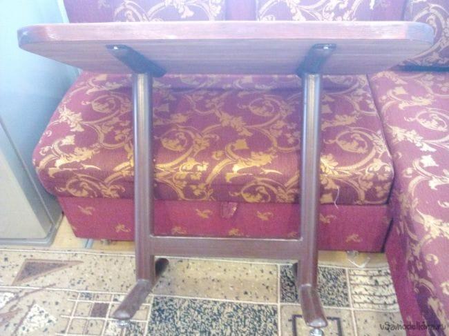 каркас стола для углового кухонного дивана