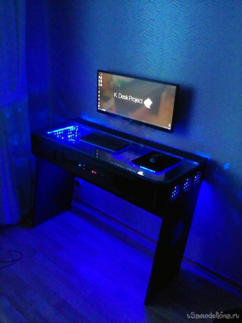 Самодельный стол для компьютера - Ремонт своими руками 82