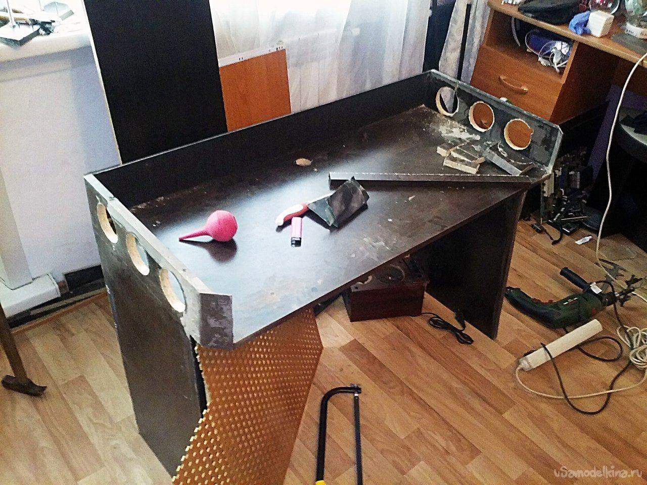 Своими руками сделать столик для компьютера