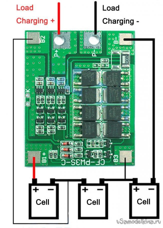 Блок зарядки аккумуляторов своими руками