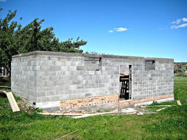 Мастер-класс по кладке стен из шлакоблока