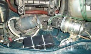 Зимний подогрев двигателя ВАЗ 2107