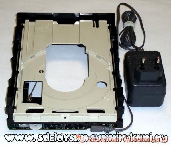 «Мешалка» из CD-привода для травления печатных плат