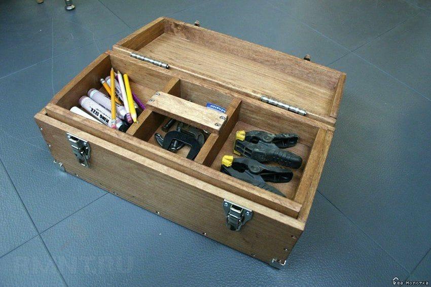 Своими руками коробочки для инструментов 19