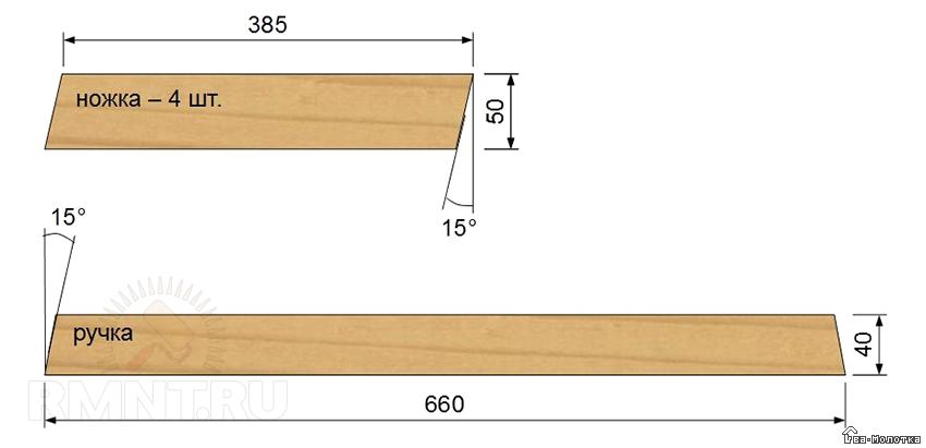 Ящик под инструмент своими руками чертежи 1
