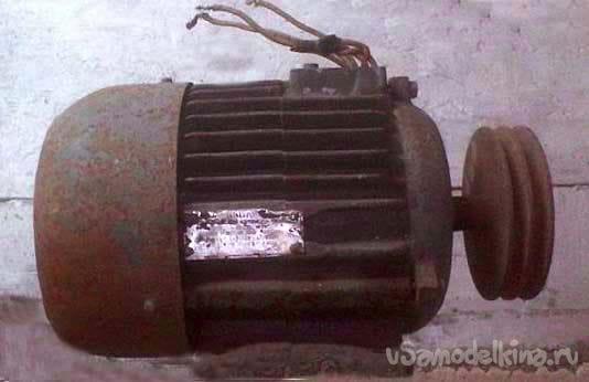 Мотоблок на электрической тяге