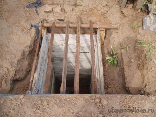 Погреб своими руками без бетонирования