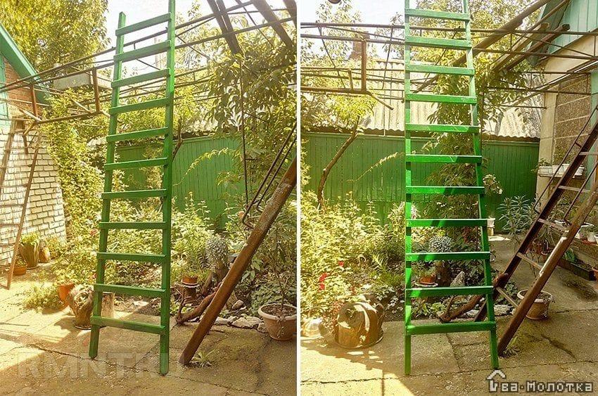 Лестницы стремянки для дачи своими руками