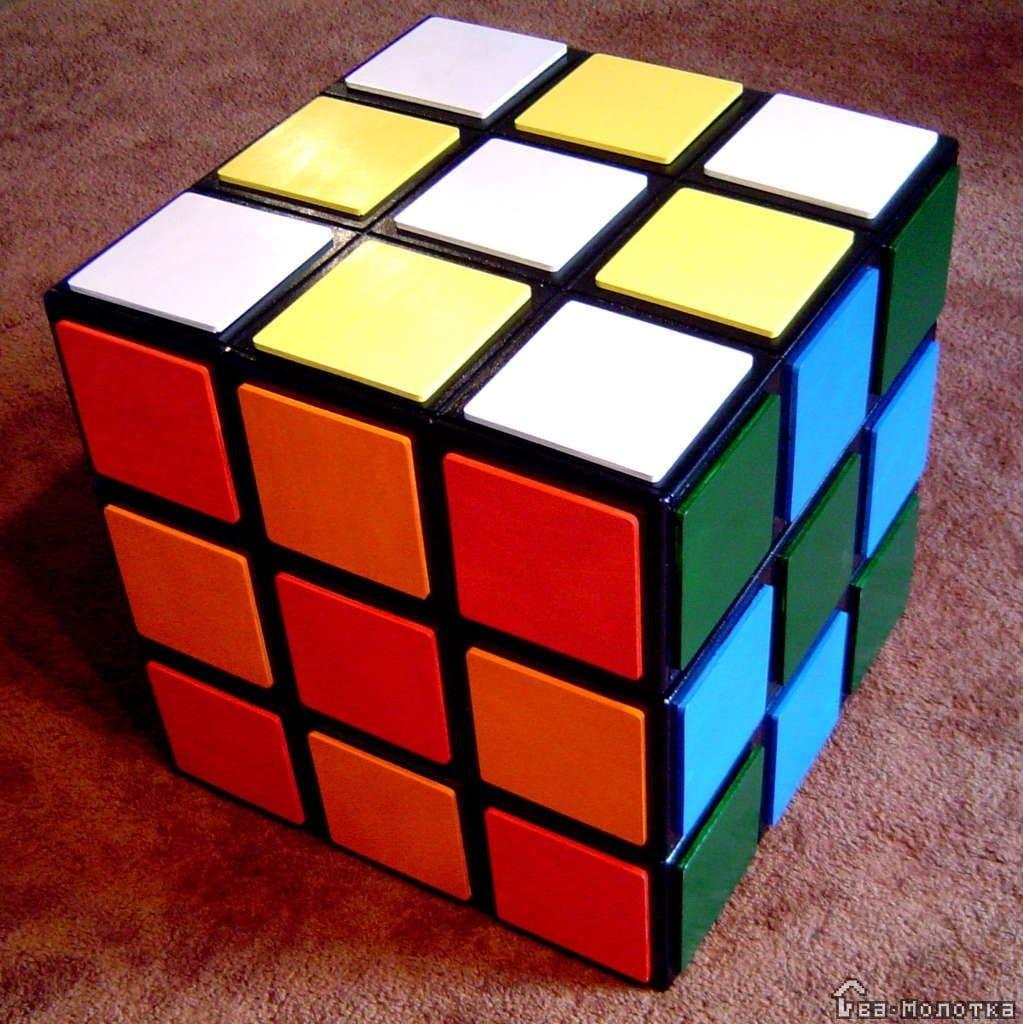 Кубик рубик своими руками сделать