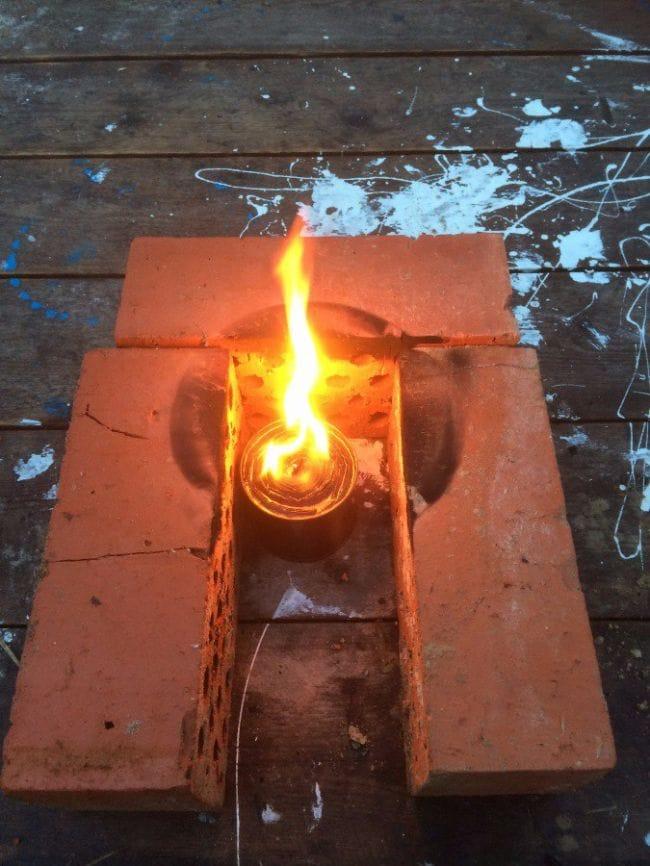 Свеча длительного горения своими руками