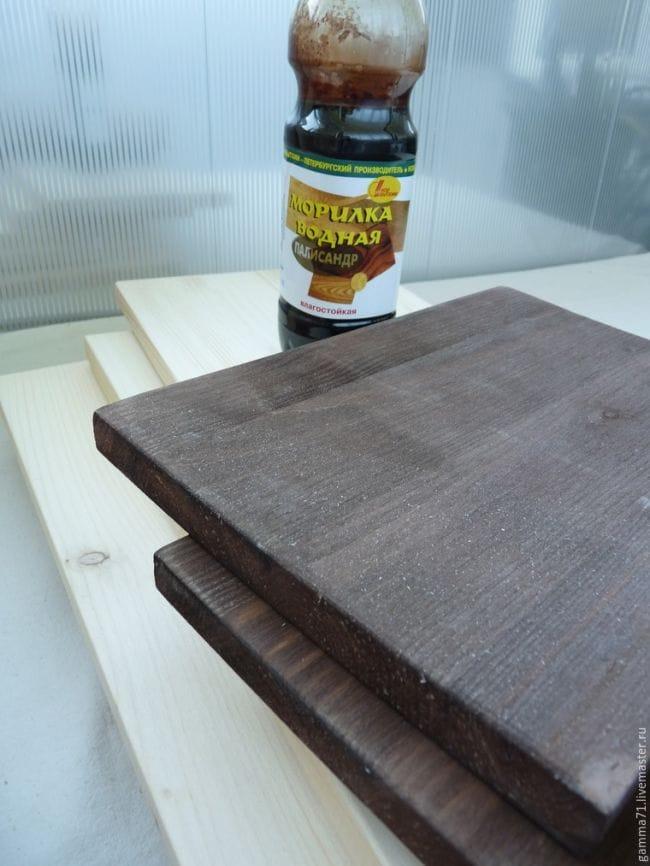 Мастерим полку для для хранения материалов и инструментов рукодельницы