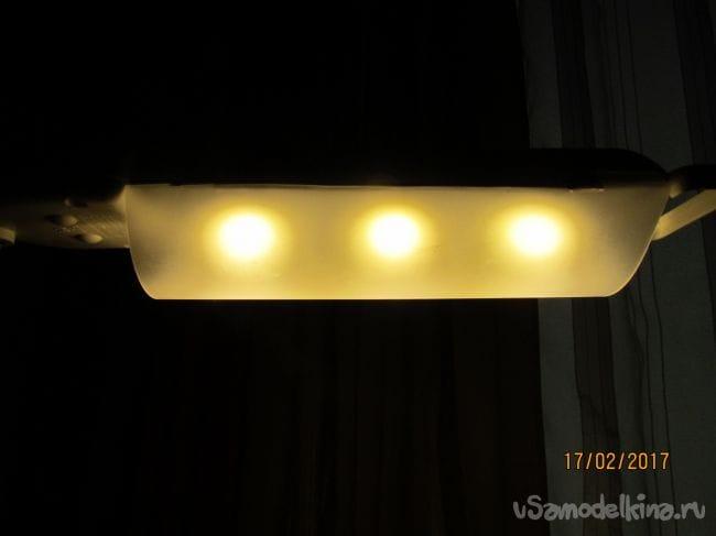 Переделка настольной лампы на светодиодную