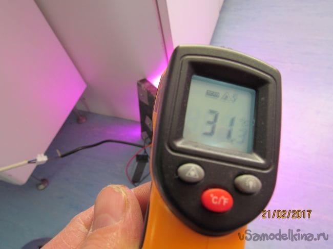 Самодельный радиатор для светодиодной матрицы 50 ватт