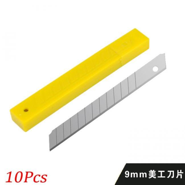 Лезвия для канцелярского ножа, 10 шт