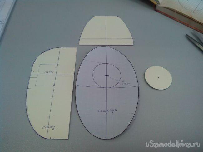 Капоты и фонари для авиамоделей из колготок и эпоксидки