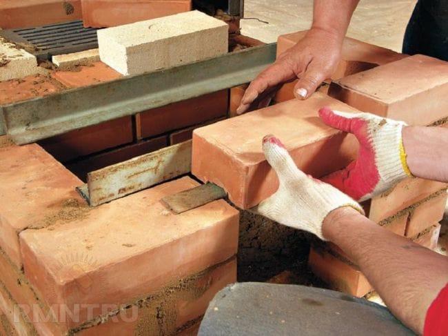 Печь-камин своими руками