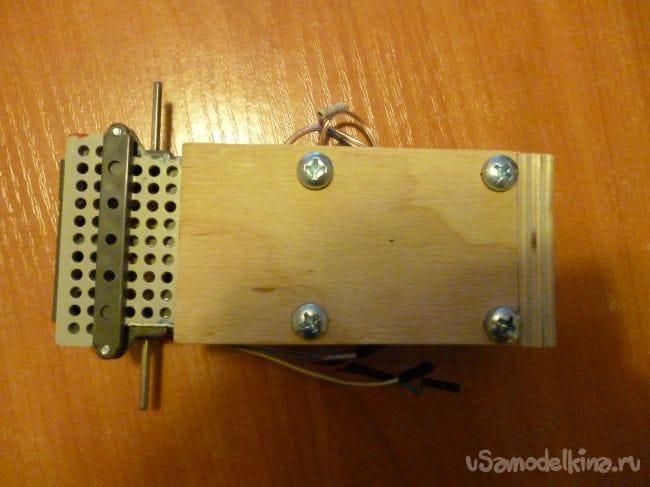Универсальное гусеничное шасси для робота