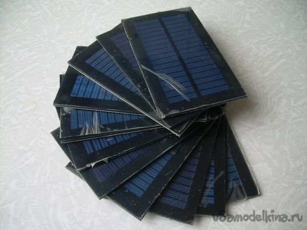Самодельная походная солнечная зарядка для телефона/планшета