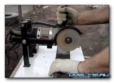 Как сделать своими руками отрезной станок из болгарки