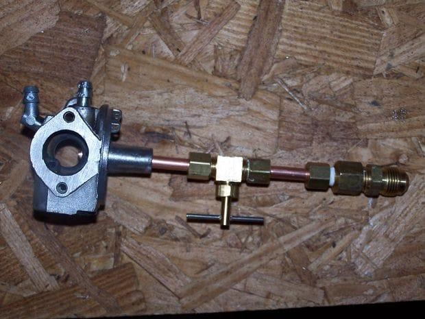 Как перевести электрогенератор на пропан с помощью карбюратора