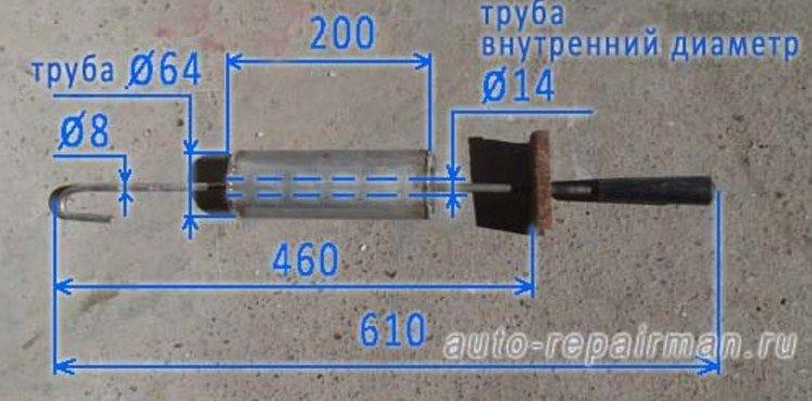 Обратный молоток для кузовного ремонта своими руками чертежи