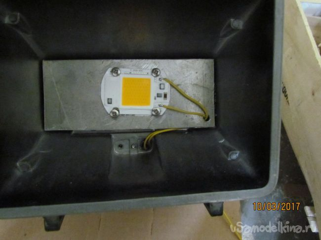 Переделка светильника на светодиодный