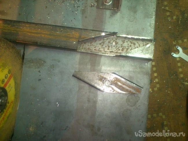 Торцевая пила по металлу своими руками