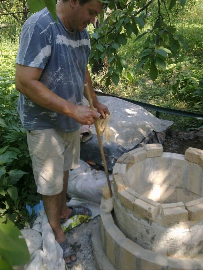 Строим стационарный тандыр