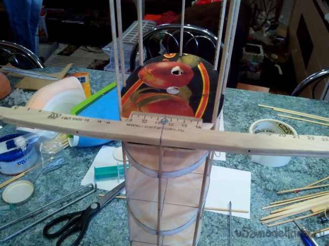 Модель самолета Ryan STA