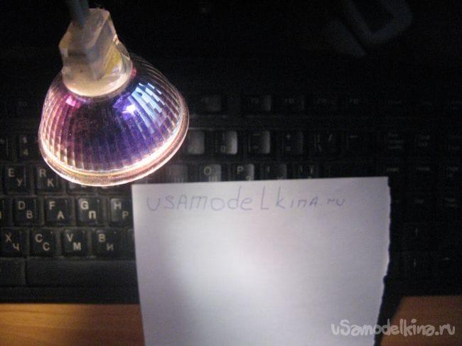 Простейшая подсветка для клавиатуры с питанием от порта PS/2