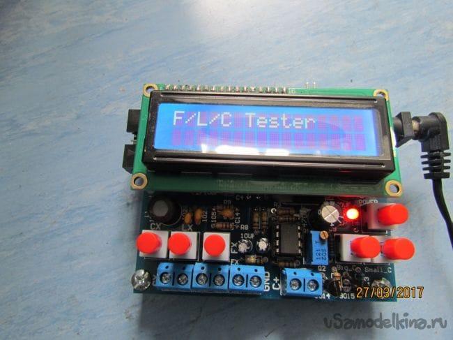 Собираем  FLC тестер  из  набора