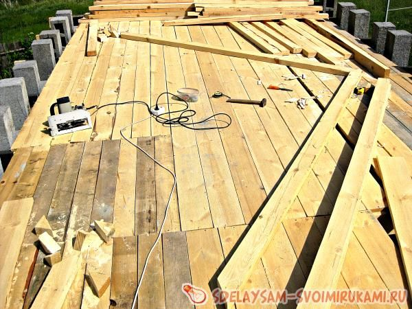Как сделать крышу своими руками