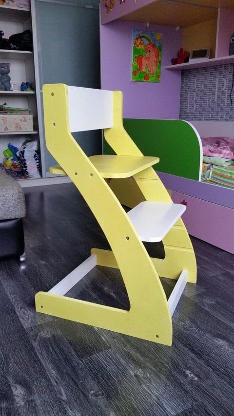 Самодельный детский стул «вырастайка»