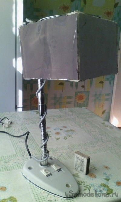 Вытяжка канифольного дыма с подсветкой