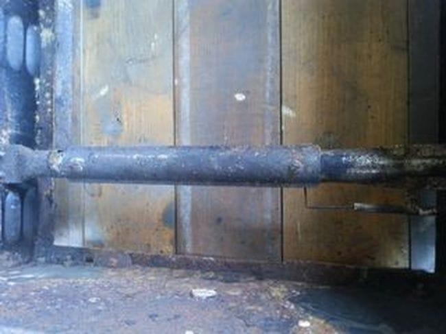 Барбекю из бочки под газ и дрова