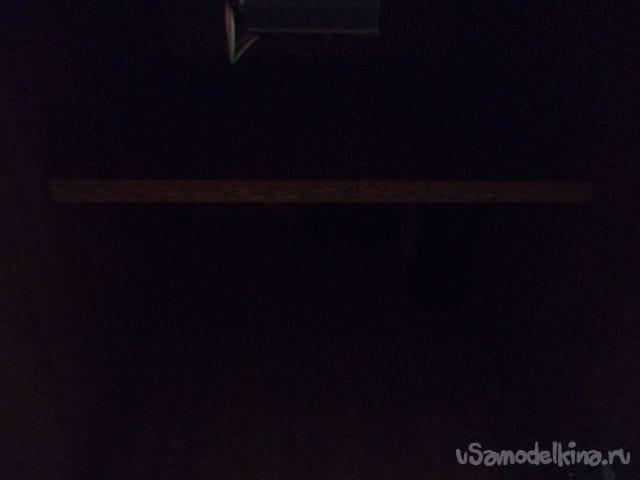 Самодельное освещение для тумбочки