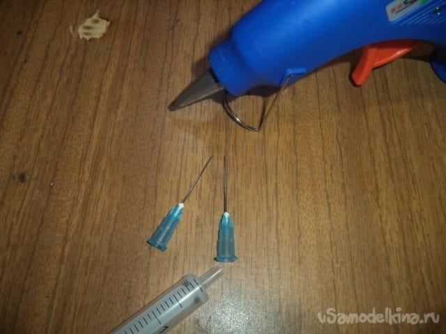Дротики с выстрелом с помощью шприца своими руками